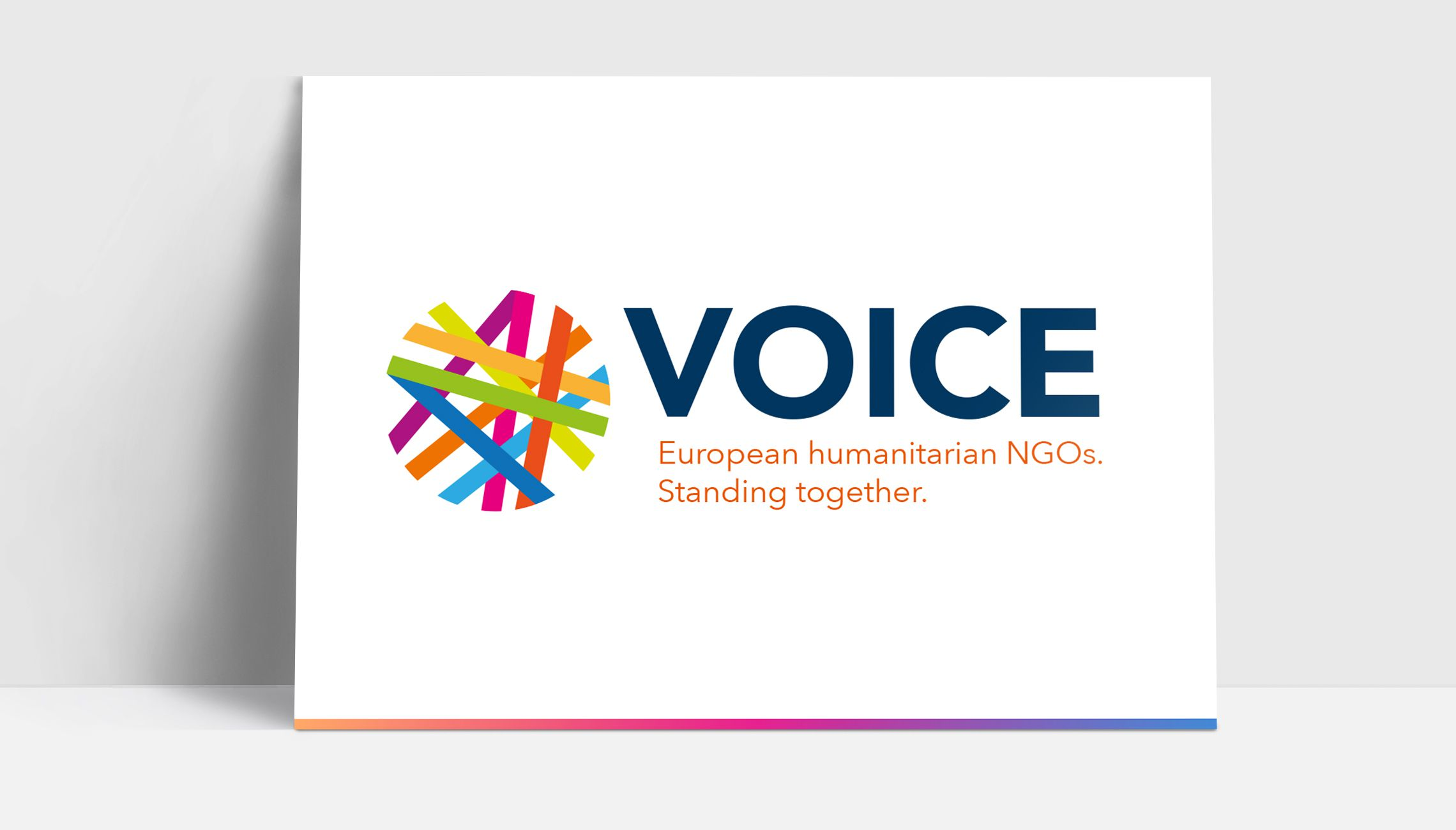 identity: Logo and identity design for VOICE - image 1