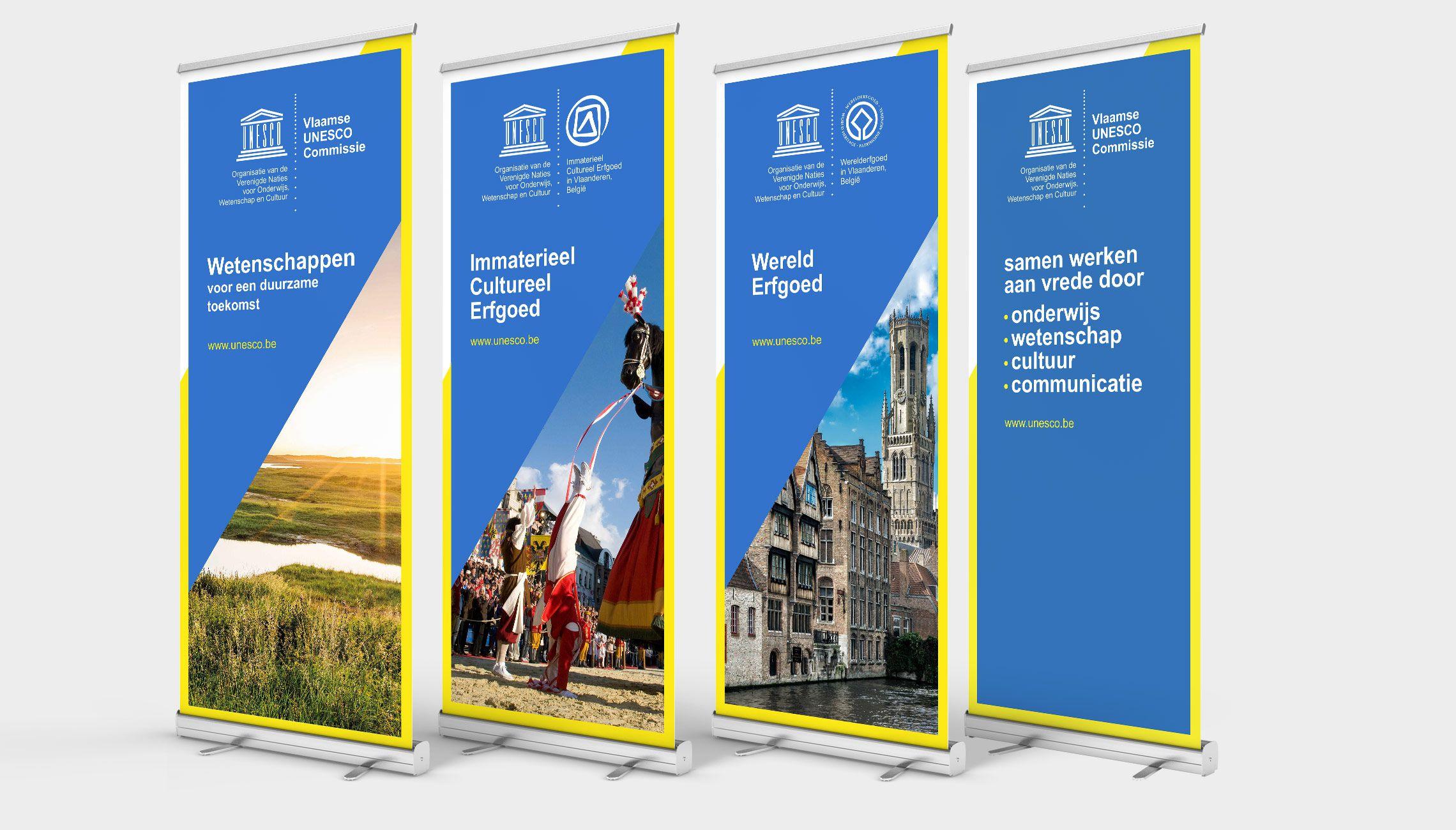 identity: Visual identity UNESCO-Flanders - image 1