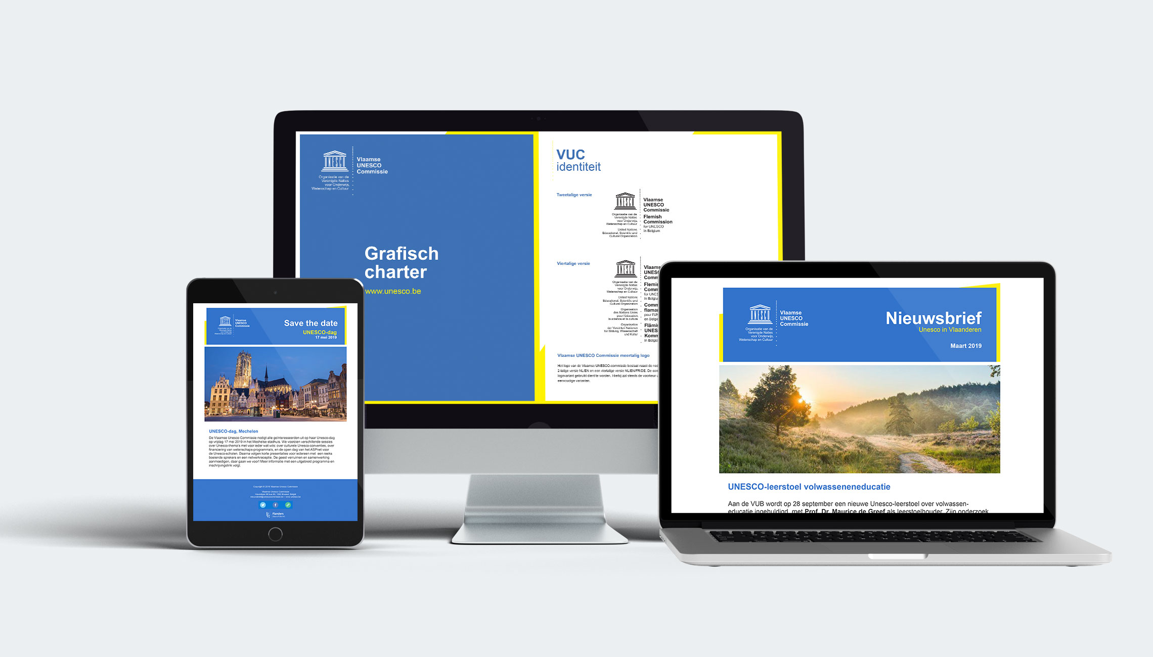 identity: Visual identity UNESCO-Flanders - image 2