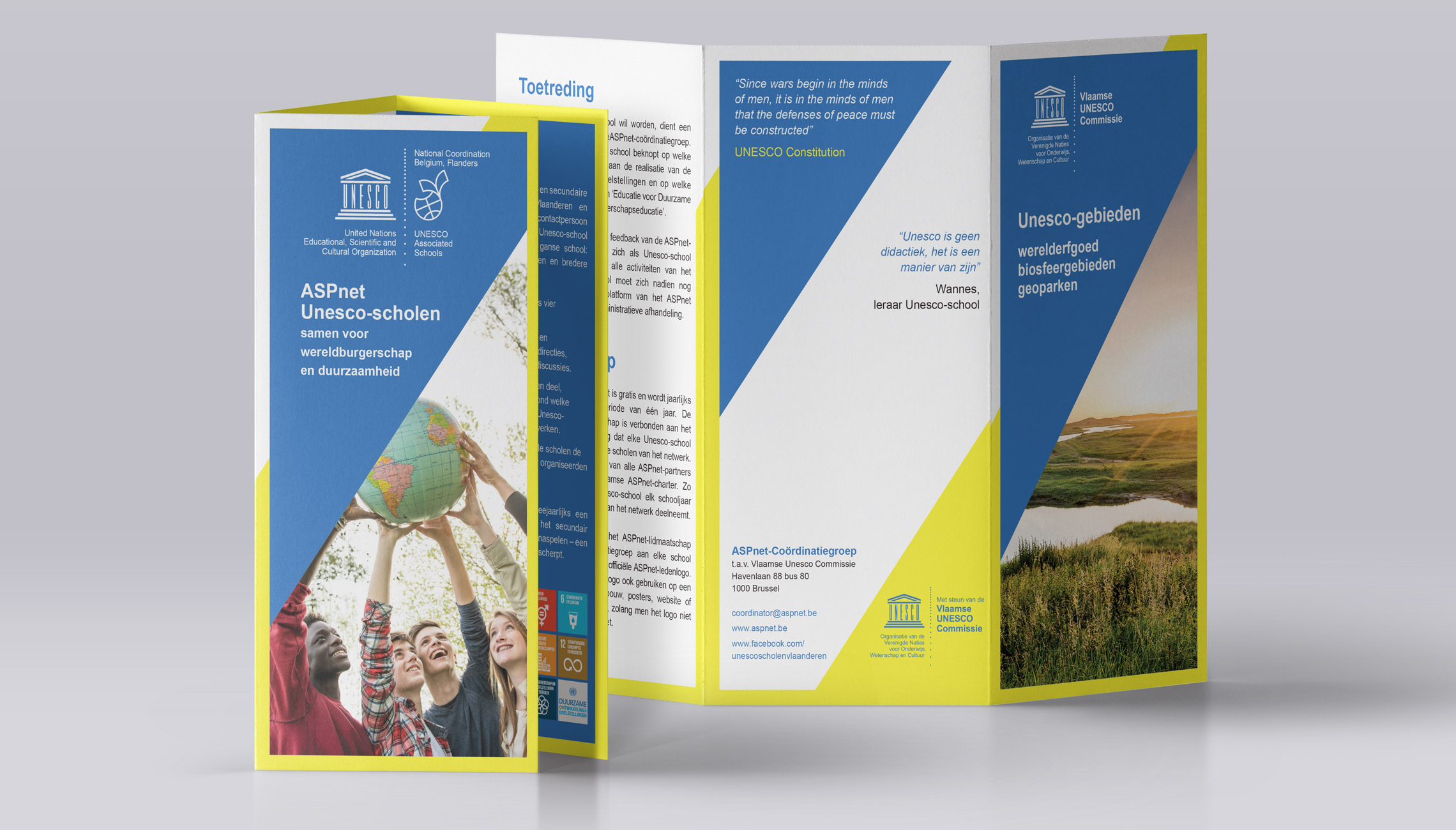 identity: Visual identity UNESCO-Flanders - image 3