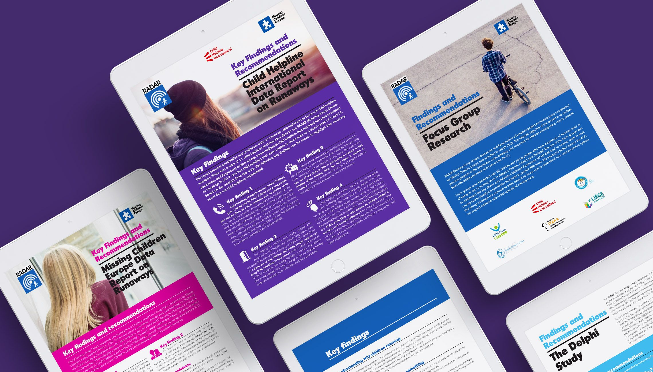 publication: Design of factsheets on missing kids - image 1