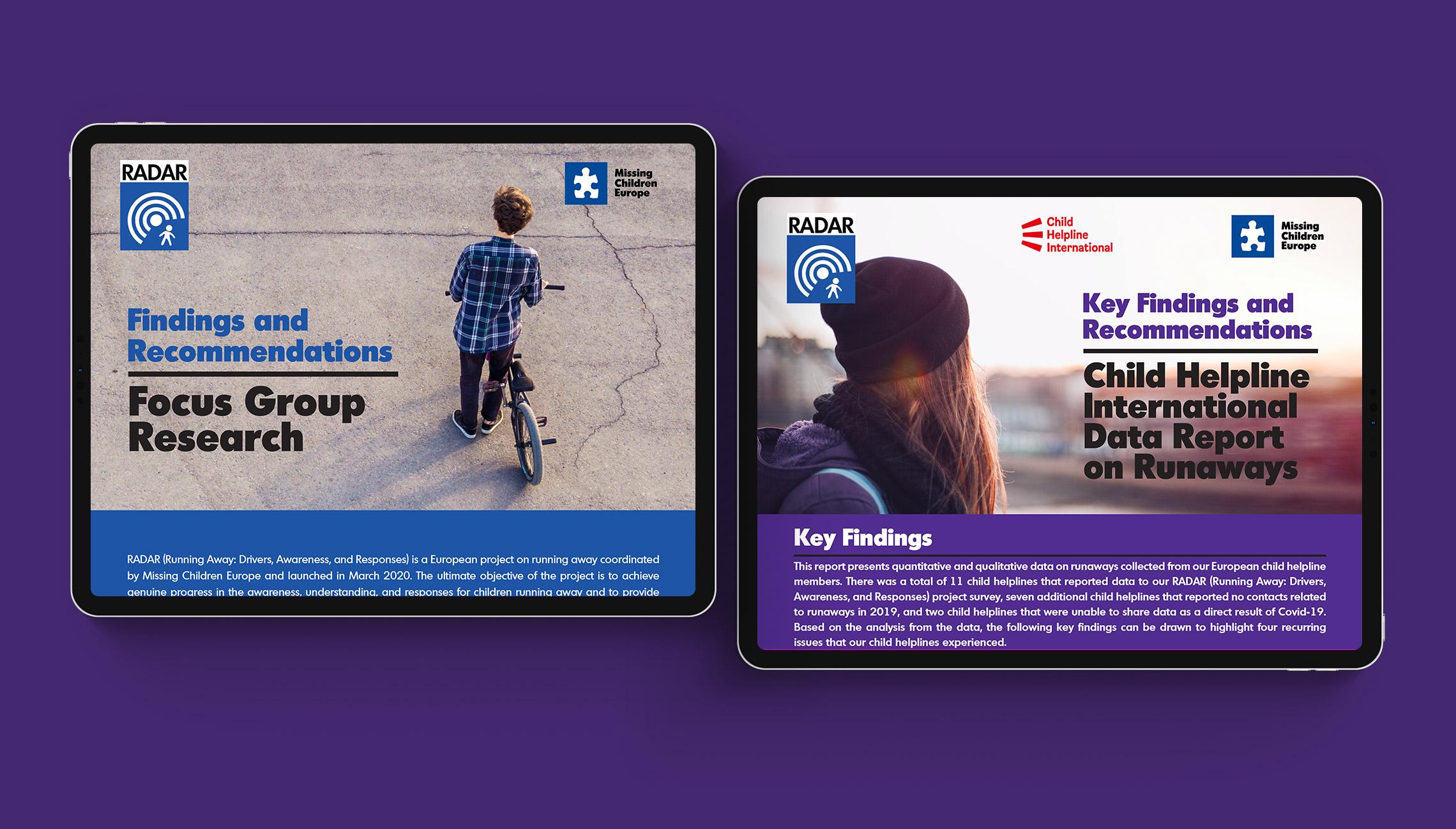 publication: Design of factsheets on missing kids - image 2