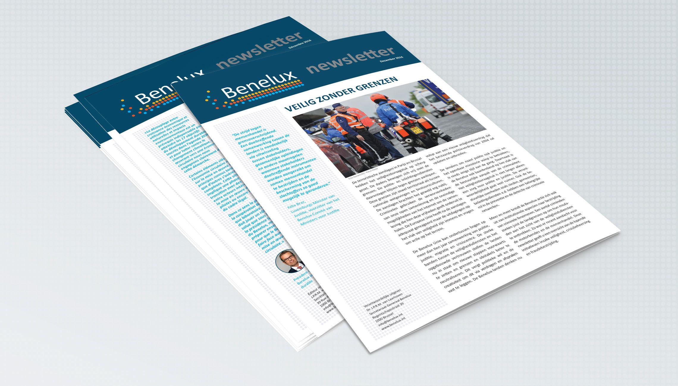 publication: Newsletter Benelux - image 1