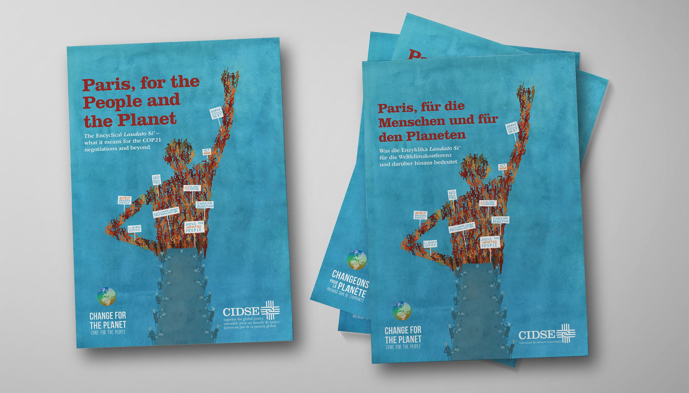 publication: Paris climate conference brochure - image 1