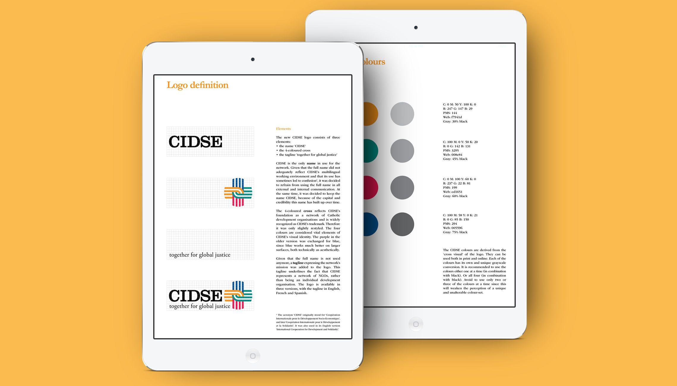 identity: CIDSE Identity design - image 3