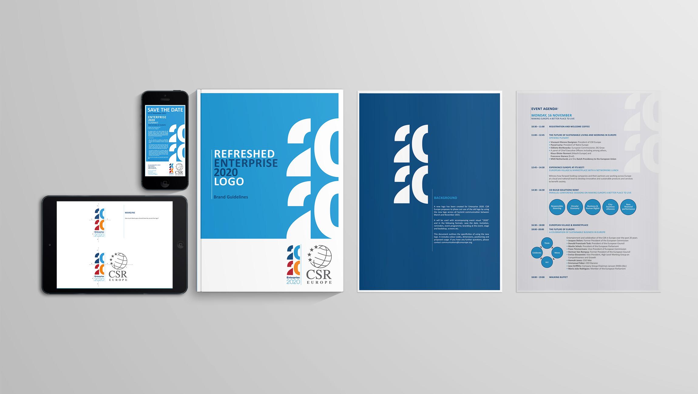 identity: Creation of Enterprise 2020 identity - image 2