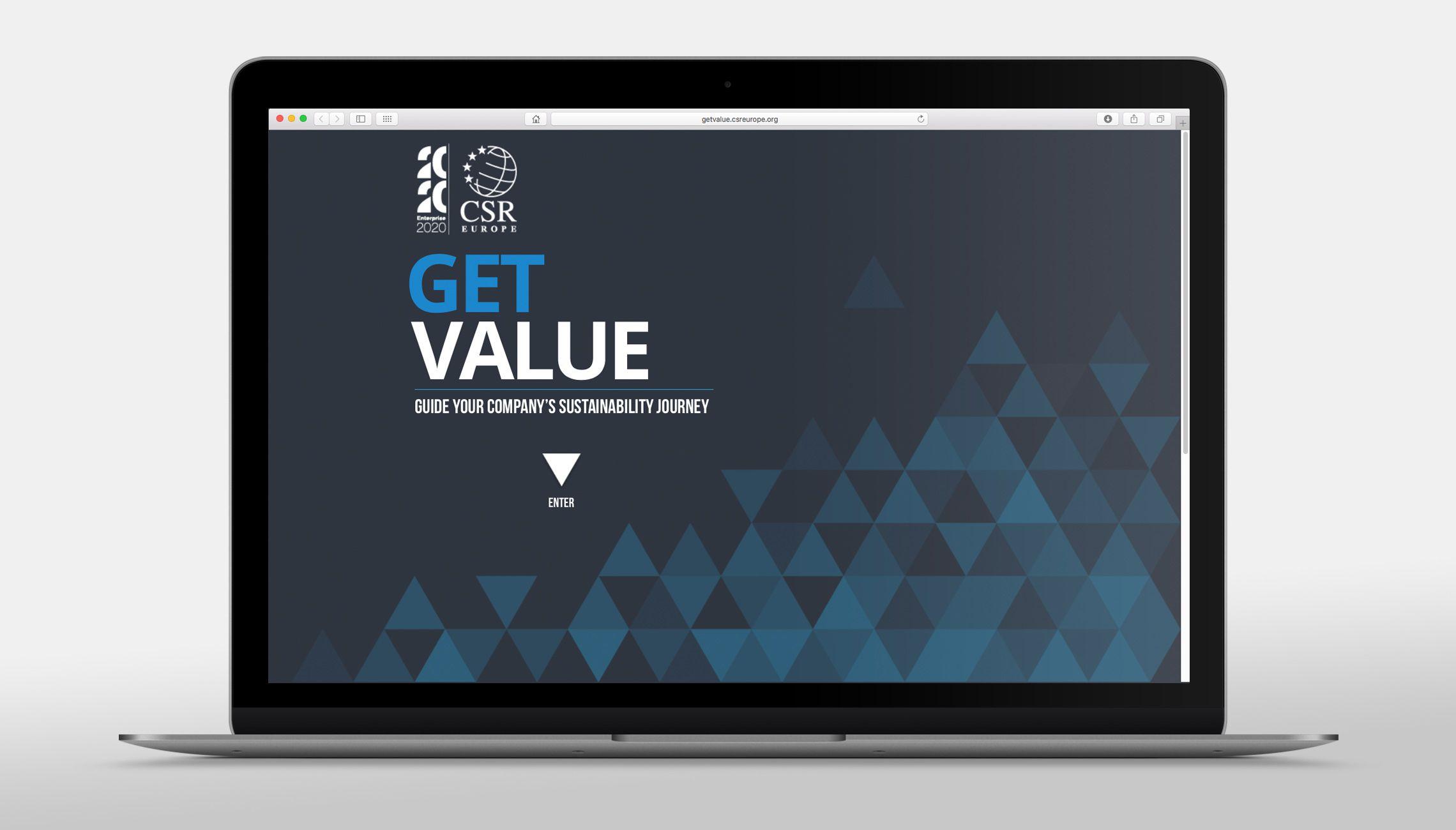 web: Sustainability management website  - image 1