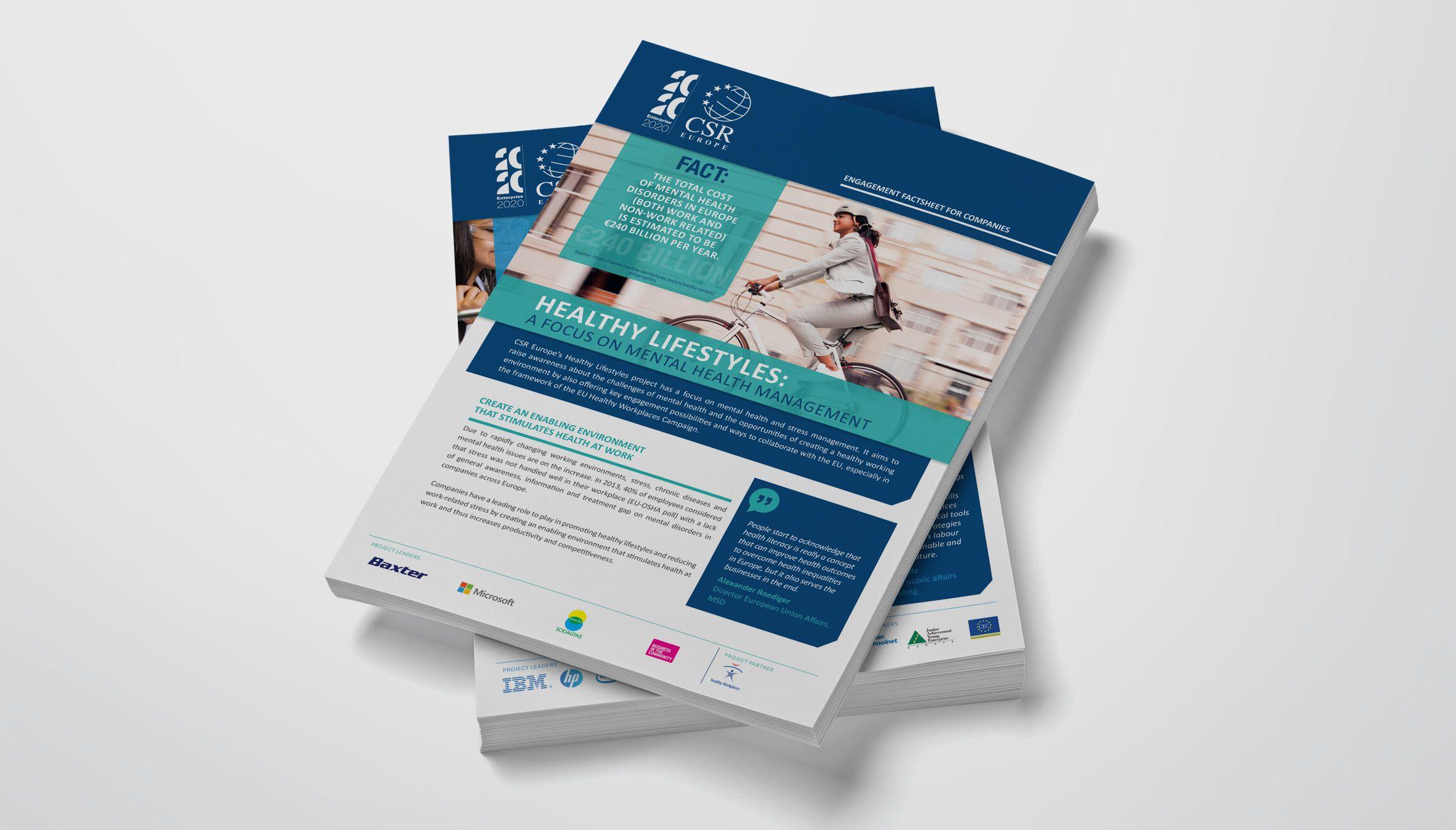 print: CSR Europe Factsheets - image 1