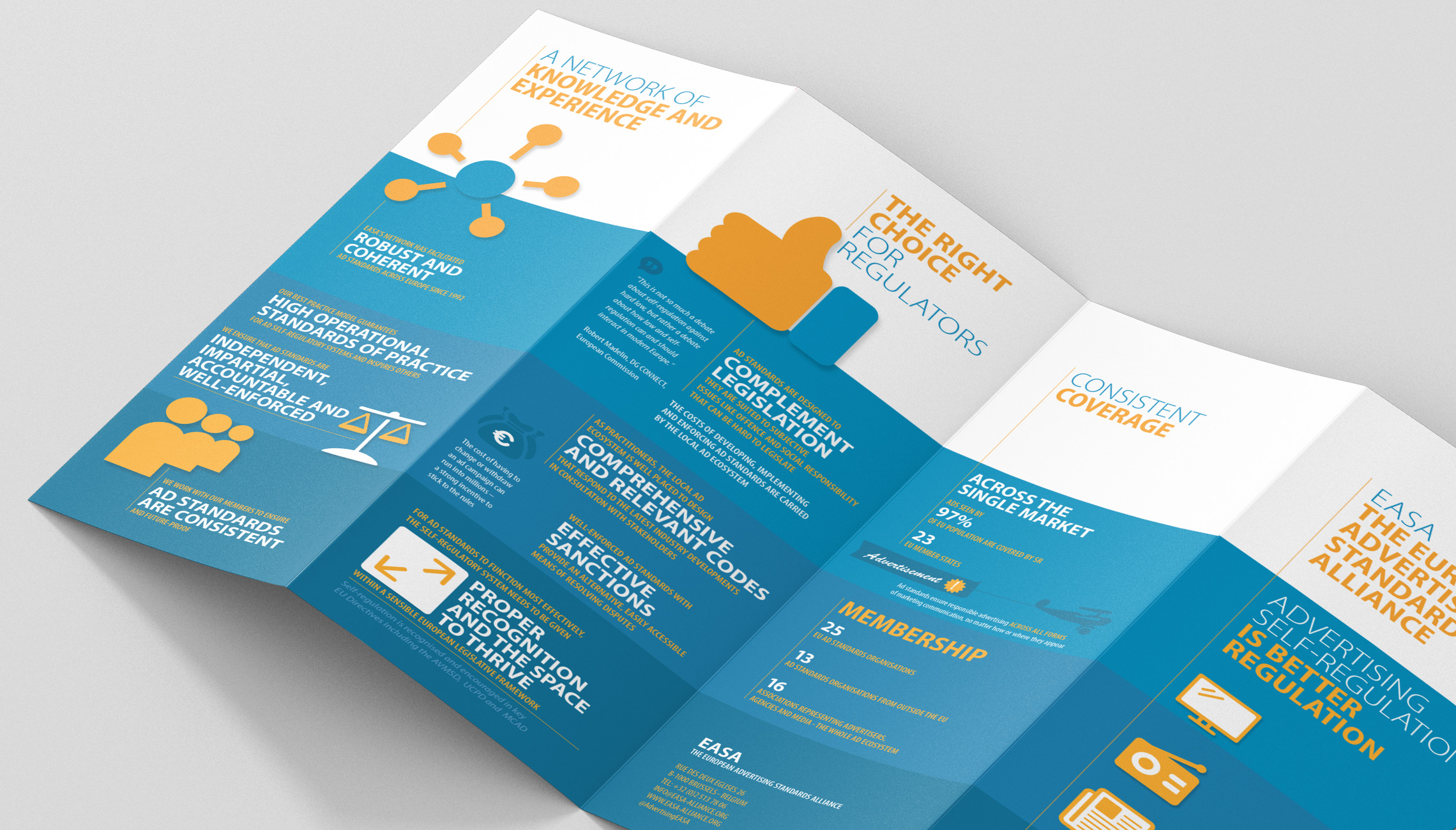 infographics: Leaflet with infographics - image 2