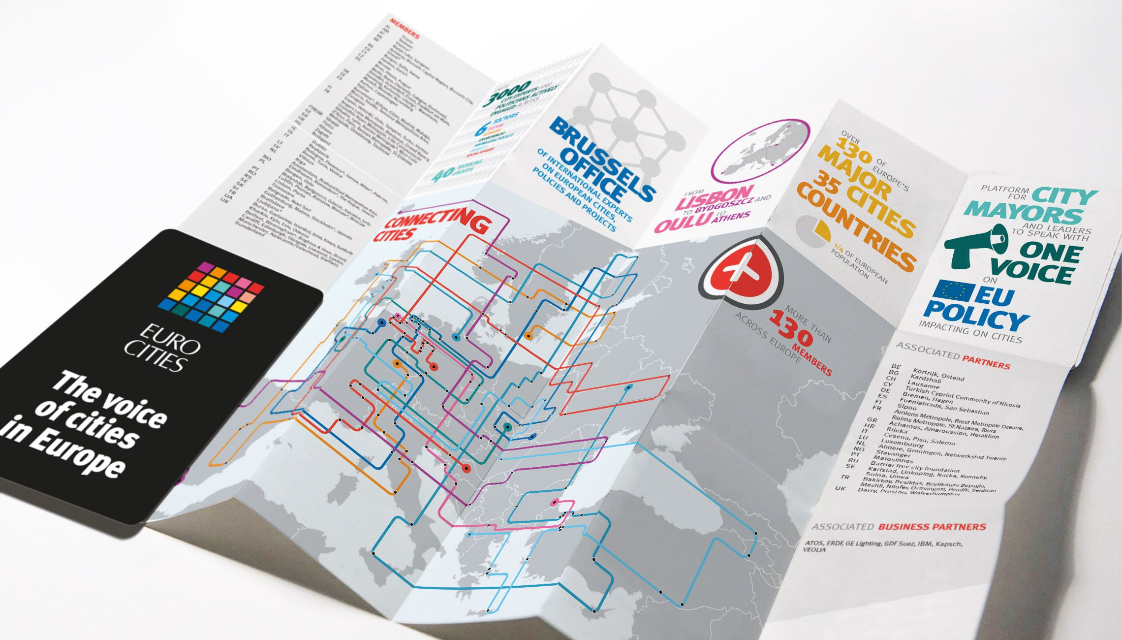 infographics: Fold-out leaflet with infographics - image 1