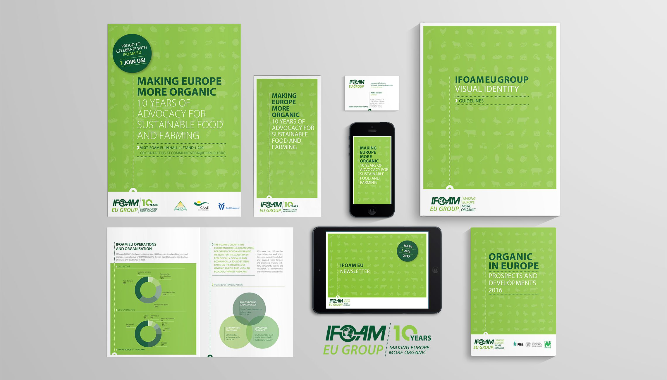 identity: Visual identity for IFOAM EU  - image 1
