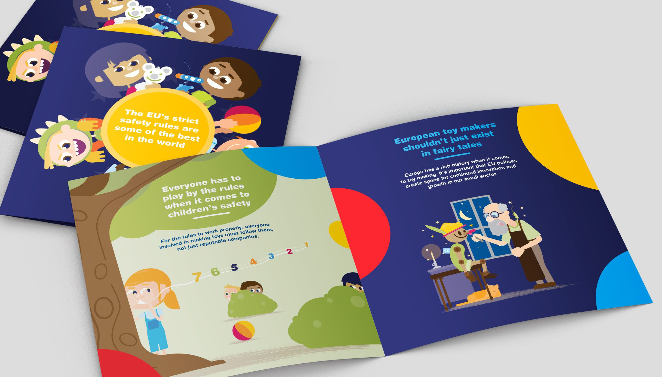 publication: Brochure on Toy Industries  - image 1